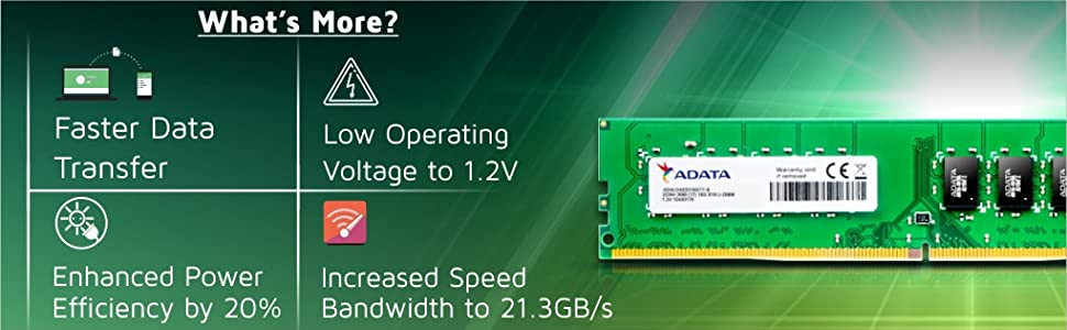 """ADATA DDR4 2400 SPN-FOR1"