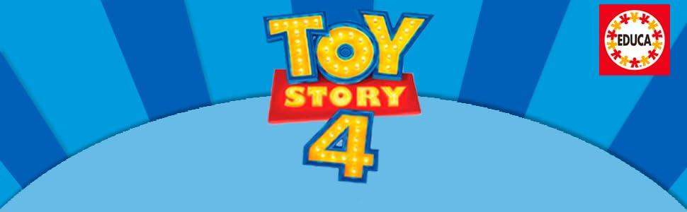 Puzzle; puzzle toy story 4; toy story 4; puzzle educa; educa borras;puzzle pasion; puzzle para niños