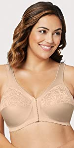 1200 Front Close Support Bra