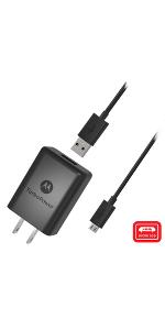 Amazon.com: Motorola SPN5970A TurboPower 15+ QC3.0 Wall ...