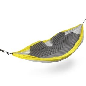 grey hammock pad, sleeping pad, lounging, 4 season, all weather, comfortable