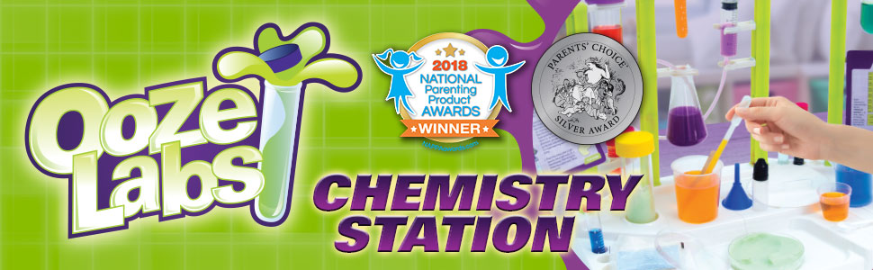 Ooze Labs Chem Station, laboratory, science, pretend play, thames and kosmos, stem, learning, toy