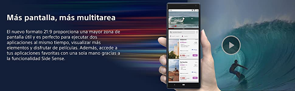 Sony Xperia 10, XA2, XA1