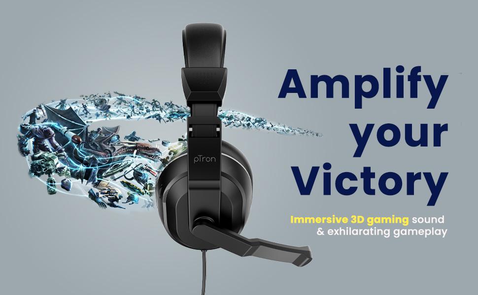 Studio Lite Gaming Wired Headphones