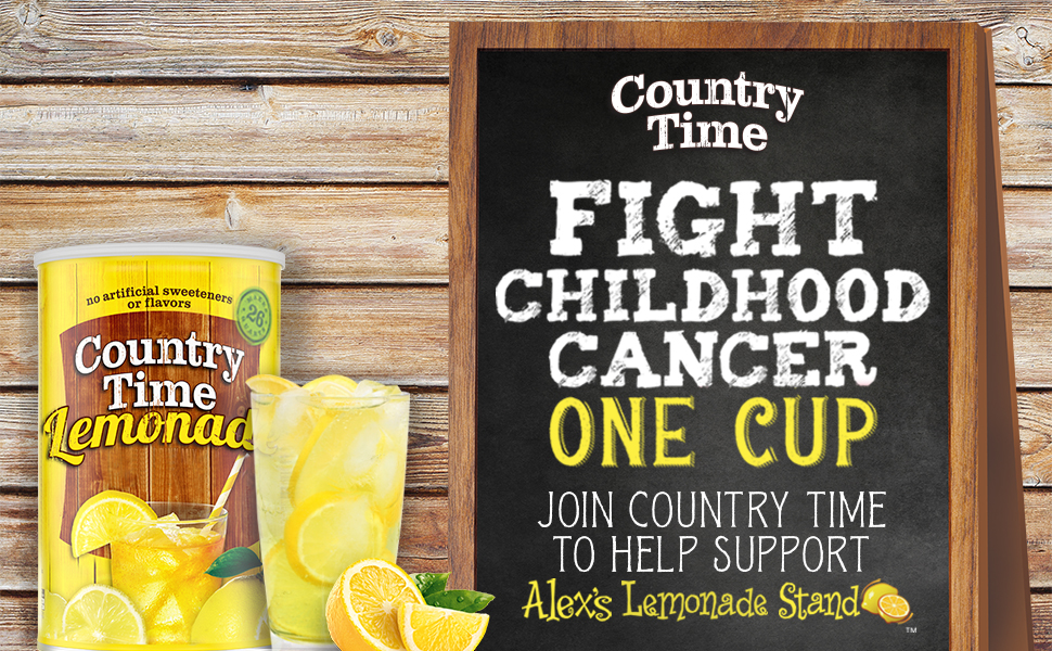 lemonade country time mix