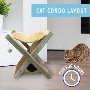 Cat condo layout