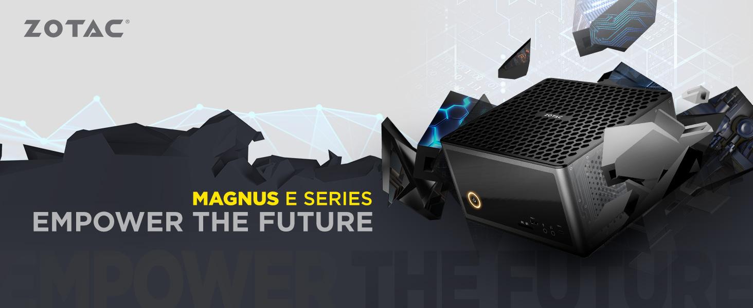 ZOTAC MAGNUS EC52070D Super Compact Mini PC GeForce RTX 2070, Intel Core i5-8400T 6-core processor