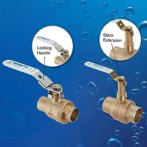 watts, ball valve