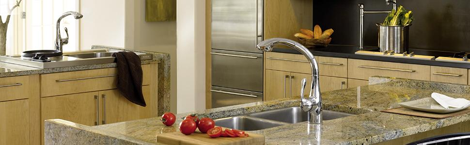 HG Allegro E Gourmet Kitchen Faucet - Touch On Kitchen Sink Faucets ...