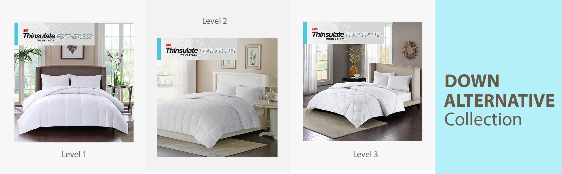 Amazon.com: Sleep Philosophy Level 3: Warmest 3M Thinsulate Down ...