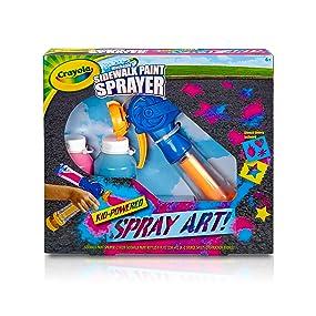 Crayola Washable Sidewalk Paint Sprayer