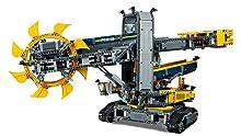 Motorisierte Funktionen mit laufenden Förderbändern und rotierendem Aufbau