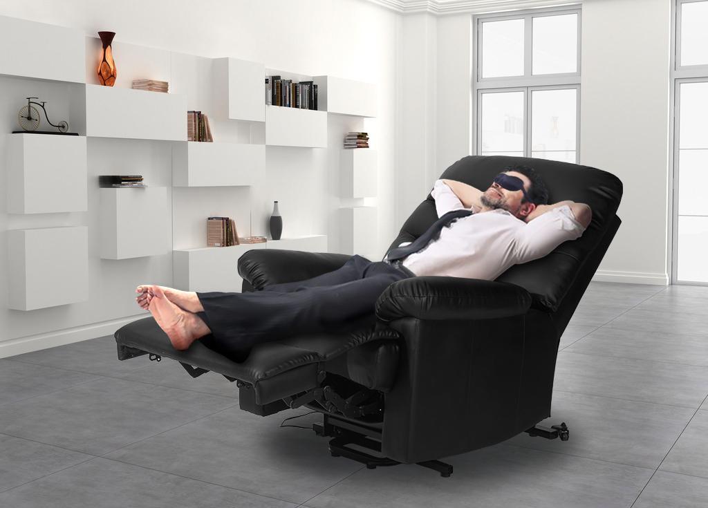 Description  sc 1 st  Amazon.com & Amazon.com: Merax Power Recliner and Lift Chair in Black PU ... islam-shia.org