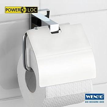 Wenko 17973100 Toilettenpapierhalter San Remo Power-Loc