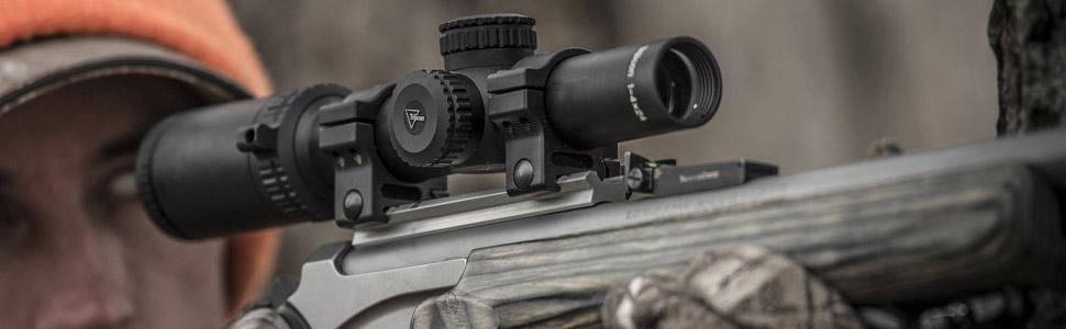 Accupower 1-4x24, hunting scope, variable powered riflescope