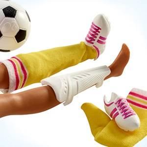 Amazon.es: Barbie Quiero Ser Atleta - Muñeca 60 aniversario con ...