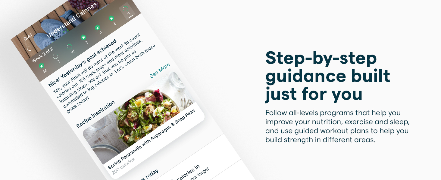 step by step guidance built just for you