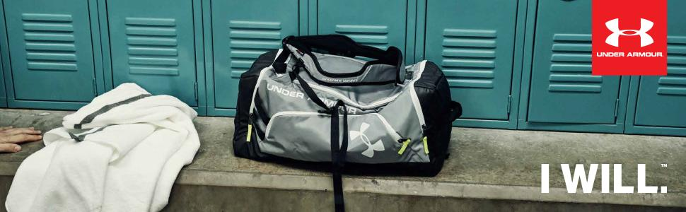 ced642110 Under Armour Undeniable Unisex Sackpack, Black / White / Silver (001 ...