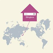 Slingboxを日本に設置