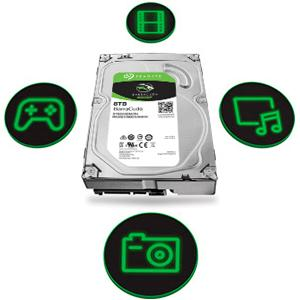 Seagate Bare Drives 6TB Barracuda Sata 6GB/s 256MB