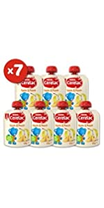 cerelac, baby food, baby snacks, nestle, food pouch, pouch, baby puree, puree pouch, bundle, deal