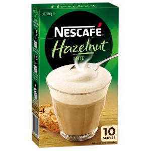 Nescafe Hazelnut Latte