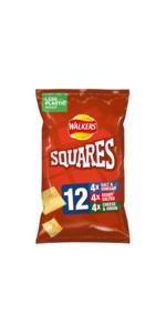 walkers squares snacks