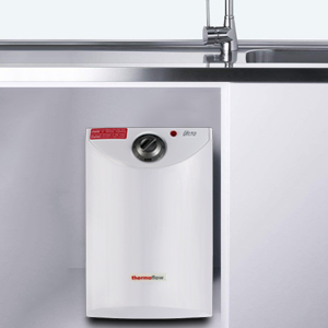 thermoflow UT10 electric mini tank water heater under sink