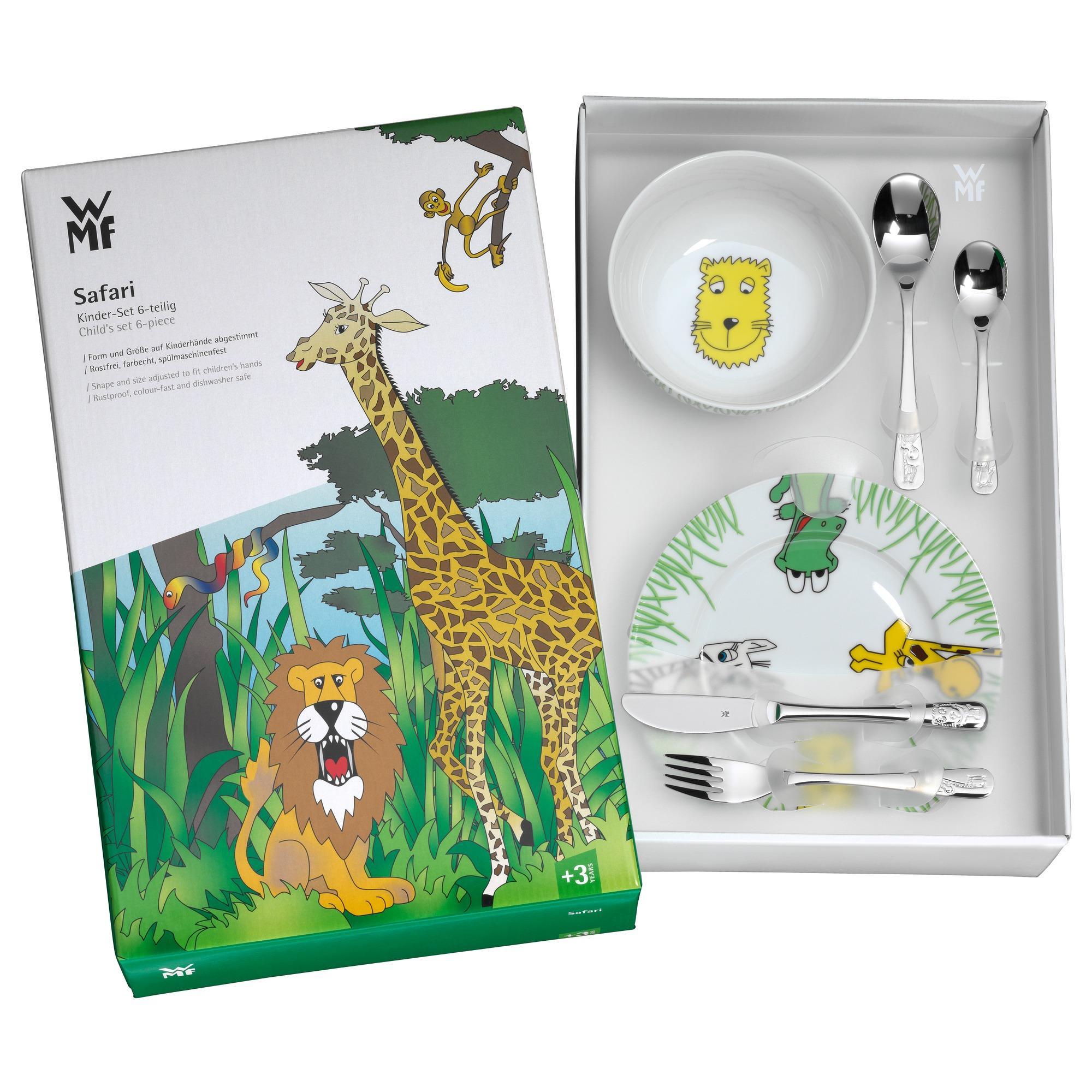 WMF Safari Kindergeschirr Kindertasse, Ø 8,5 cm, Porzellan