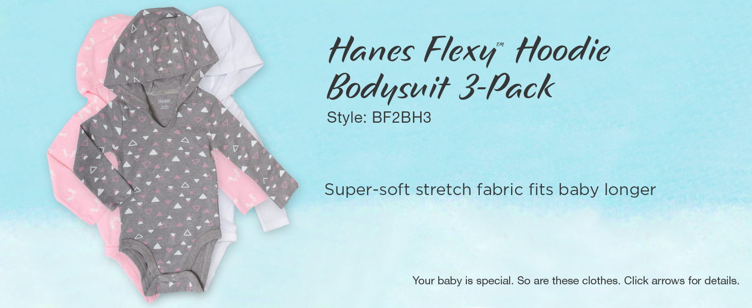 hanes baby; baby clothes; unisex baby clothes; baby girl clothes; baby gifts; carters baby girl