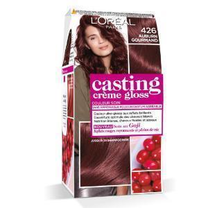 LOréal Paris Casting Crème Gloss Coloration Ton Sur Ton Sans Ammoniaque 4.26 Auburn Gourmand