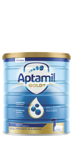 Aptamil Gold+ Baby Infant Formula Stage 1 From Birth to 6 Months
