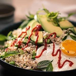 RiceSelect Egg & Edamame Brown Rice Bowl