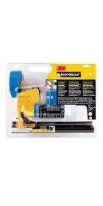 3M Hand-Masker Pre-assembled Masking Film & Tape Kit Includes Straight Cut Blade