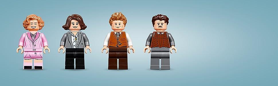 LEGO Fantastic Beasts - Maleta de Criaturas Mágicas de