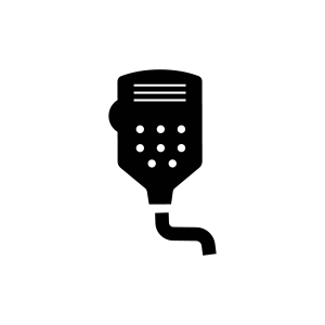 Heavy Duty Dynamic Microphone, CB Radio, Cobra CB Radio, Cobra, Cobra Electronics, Car CB Radio, Car