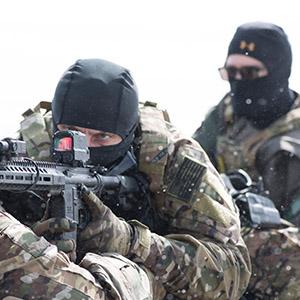 steiner optics DRS 1X battle defendu reflex sight rapid lethal target close quarters engagement