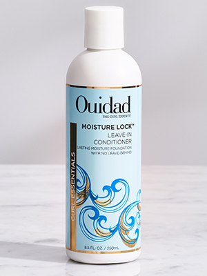 Moisture lock leave in conditioner for curly dry hair