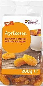 Früchte Trockenfrüchte Pflaumen Aprikose Trockenobst