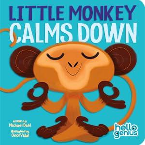 hello genius little monkey calms down bad day meltdown calm technique singing cuddle book toddler