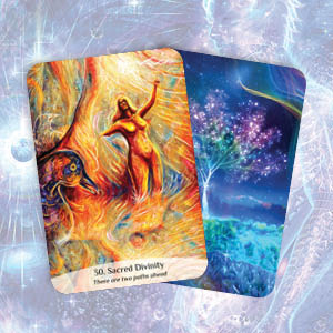 sacred spirit; reading cards; intuition; soul; guidance; oracle cards; sacred divinity; angel; heal