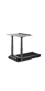 treadmill desk gray