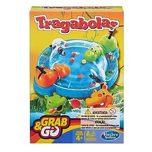Hasbro Gaming Gaming Travel Tragabolas Viaje, Versión español (Hasbro Spain B1001175): Amazon.es: Juguetes y juegos