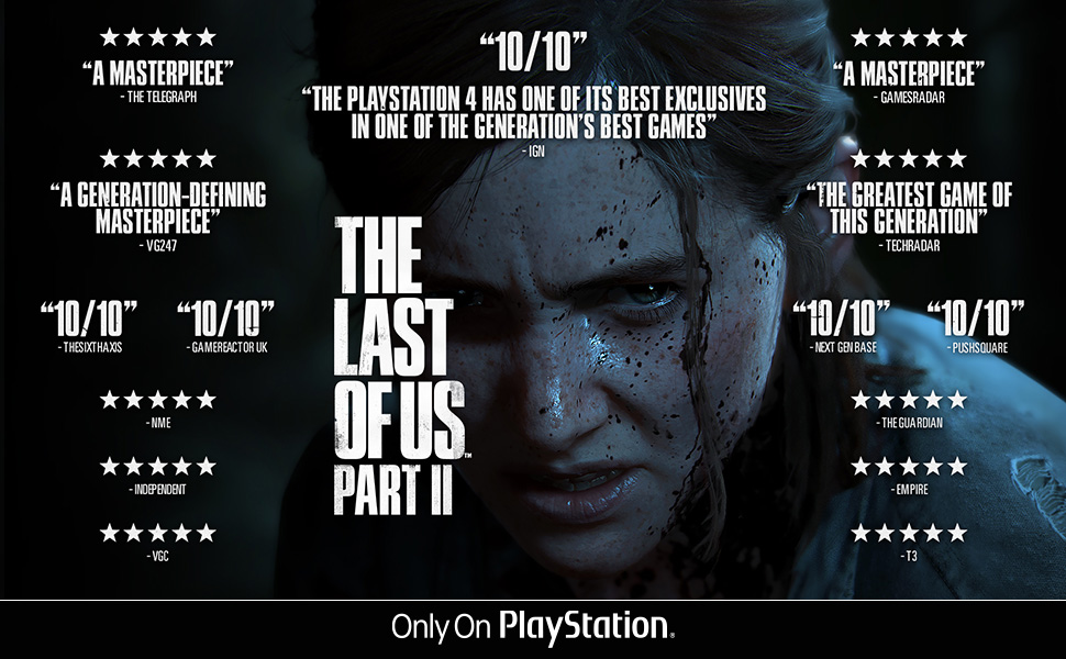 the last of us part 2, ps4, playstation, only on playstation