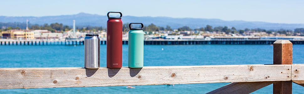 GiiVEN empowered by MiiR insulated stainless steel drink ware tumbler water bottle hydration bottle