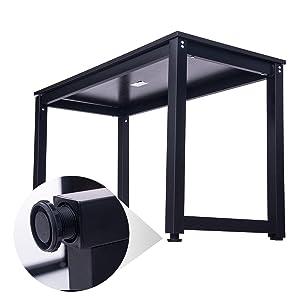 Amazon Com Merax Modern Simple Design Computer Desk Table