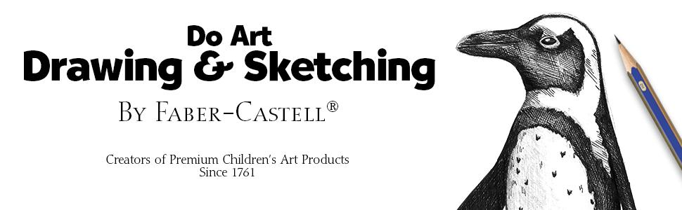 Amazon Com Faber Castell Do Art Drawing And Sketching Art Kit