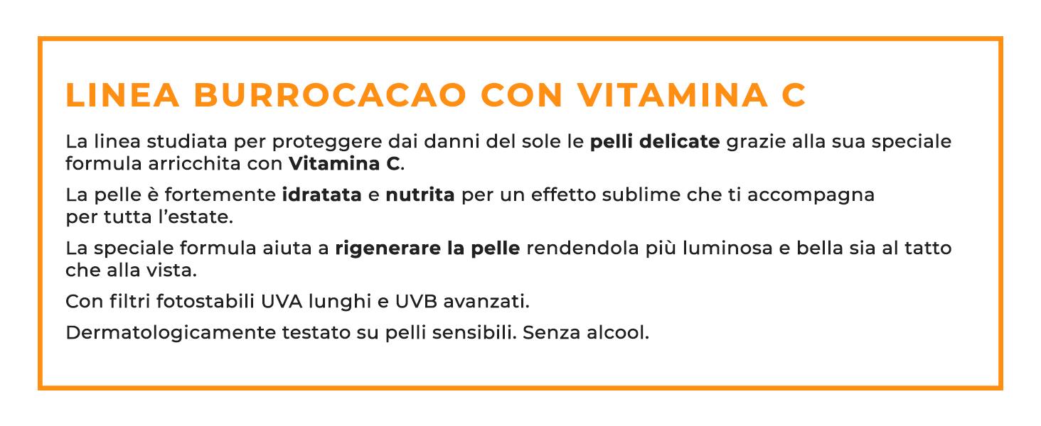 linea burrocacao con vitamina c