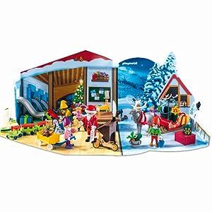 Enfant Rgalos Père Noël Père Noël Playmobil Noël Figurine Elfe avec Jouets