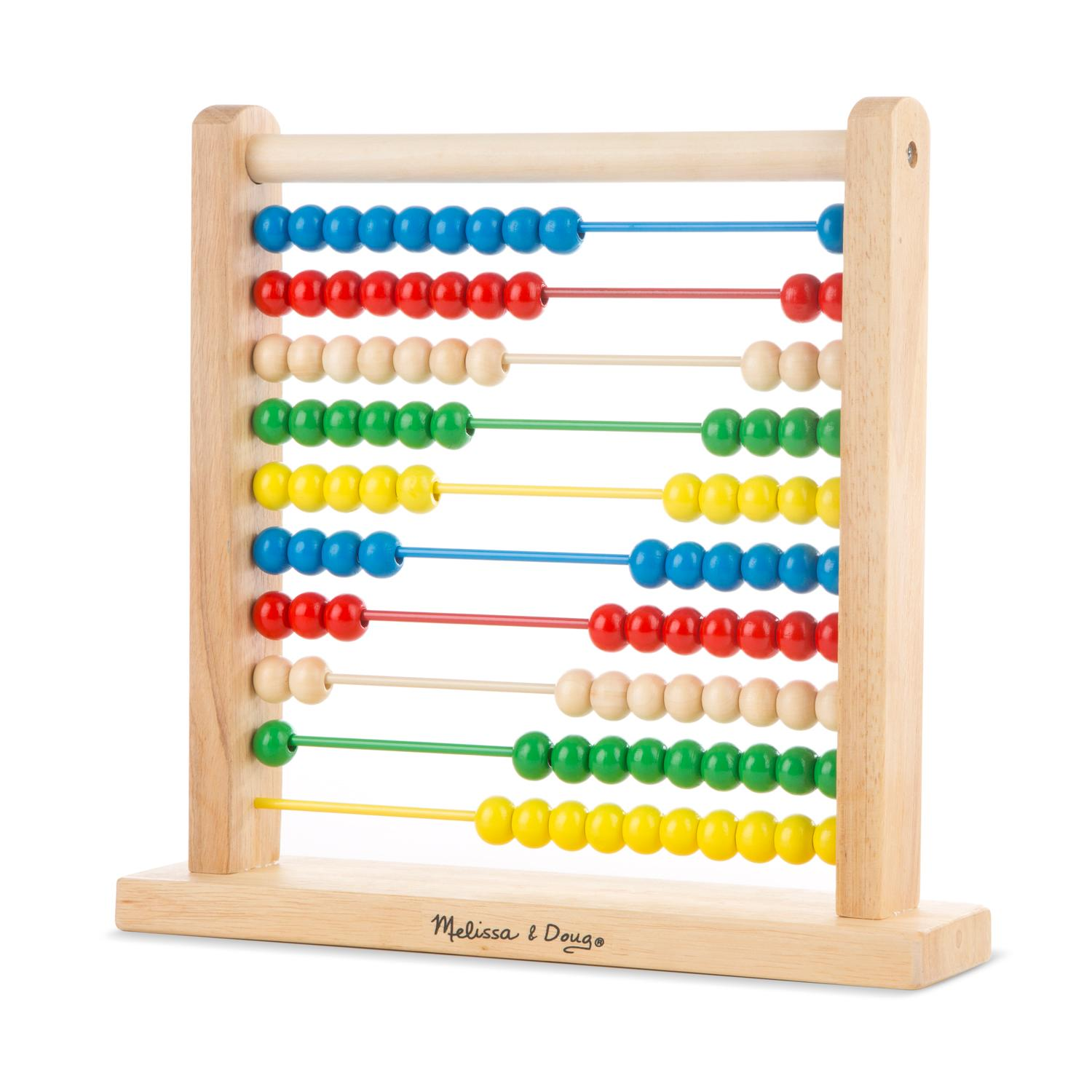Melissa & Doug Wooden Abacus Toy Amazon Toys & Games
